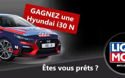 Gagnez une Hyundai i30N avec #MYLIQUIMOLY